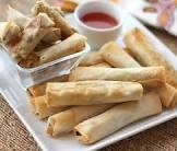 baked lumpia rolls