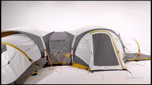 Modular Tent System Quechua My Second Home Youtube