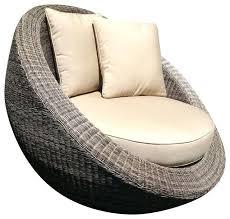 round outdoor lounge chair – Peerpower