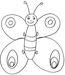 Disegno Per Bimbi Piccoli Una Farfalla Cose Per Crescere Con