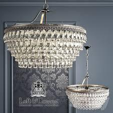 chandelier clarissa glass drop petite round chandelier