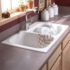 white kitchen sink. Drop In Swanstone Sinks For White Kitchen Sink Decor 10 I