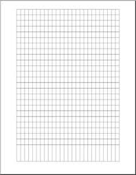 Graph Paper 25 X 25 Abcteach