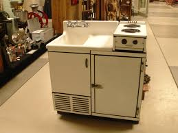 2 Piece Retro Kitchen Dwyer Sinkstove I Love This Piece It Has A Sink Icebox And 2