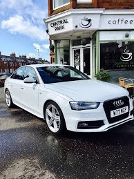 audi a4 2015 white. Contemporary White Stunning Audi A4 SLine 2015 White With 5 Spoke Alloys DIESEL And 2015