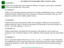 1 solving systems of equations and inequalities that involve conics problem 4 problem 1 standard 4 2 2