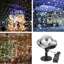 Snowfall Lights Amazon Snowfall Led Lights Ip65 Waterproof 2019 Mini Christmas Snowflake Projector Lamp Indoor Outdoor New Year Decoration Light With Rf Remote Timer High