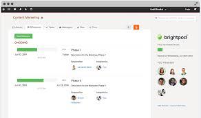 Brightpod Manage Project Milestones