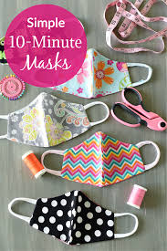 simple fortable face mask pattern
