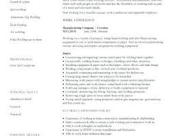 Journeyman Welder Sample Resume | Cvfree.pro