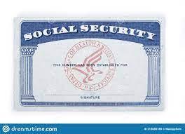 542 Social Security Template Photos ...