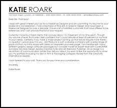 Cover Letter For Graphic Design Job Freelance Designer Cover Letter Sample Cover Letter