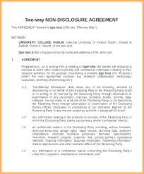 Nda Non Compete Template Employee Non Disclosure Agreement Template Free