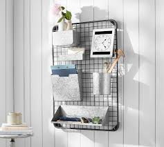 wall organizers for home office. Antique Zinc All-In-One Organizer Wall Organizers For Home Office