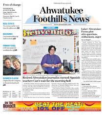 Ahwatukee Foothills News - Aug. 10, 2016 by Times Media Group - issuu