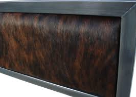 Denver colorado industrial furniture modern king King Size Absolutely Design Cowhide Headboards Bedroom Furniture Wicker Wall Mounted Linen Solid Minimalist Large Tall Curved Mahogany Chairish Cowhide Headboards Briansautomotivenet