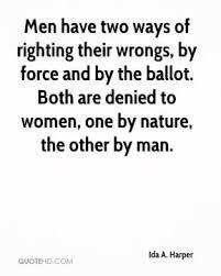 Ida A. Harper Quotes | QuoteHD