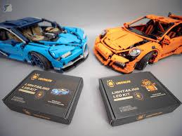 Lego Bugatti Chiron Light Kit Installation Light Kits By Lightailing For Lego Technic 42083 Bugatti