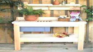 outdoor plant table plans top a simple decorations garden potting table plans full size outdoor plant
