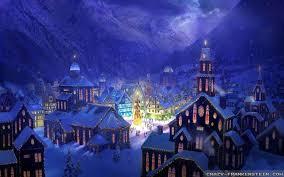 christmas town wallpaper. Delighful Wallpaper Videos And Christmas Town Wallpaper M