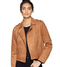 jack by bb dakota get lucky faux suede scuba moto jacket