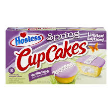hostess cupcakes spring vanilla icing 8 ct