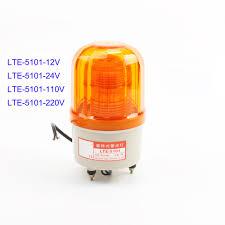 Strobe Indicator Light Us 7 25 10 Off Lte 5101 Ac220v 110v Dc12v 24v Professional Indicator Industrial Revolving Strobe Warning Indicator Retail Indicator Light In