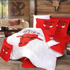 chicago bulls bedding set king queen raiders size twin cotton fabric high thickness number reduced fading