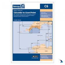 Salcombe Harbour Chart Imray Chart C6 Salcombe To Lizard Point