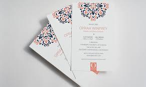 Event Invitations Publicide Inc Custom Invitation