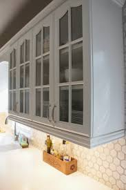 How To Remove Kitchen Tiles Remodelaholic Gray And White Kitchen Makeover With Hexagon Tile