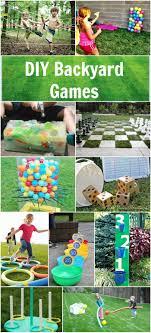 Diy Outdoor Games 32 Fun Diy Backyard Games To Play For Kids Adults Backyard