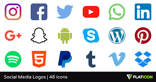 social media buttons transparent background. On Social Media Buttons Transparent Background