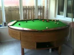 round pool table rotapool