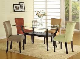 dining tables awesome glass top table sets round for room modern decoration design ikea and chairs