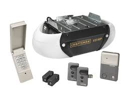 sears garage door remoteCraftsman 12 HP Chain Drive Garage Door Opener with Remote Controls