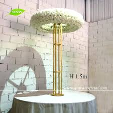unique fake chandelier for wedding or whole table top chandelier centerpieces for weddings with big artificial fresh fake chandelier
