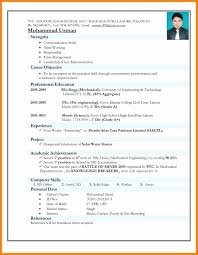 10 Indian Resume Format Hostess Resume
