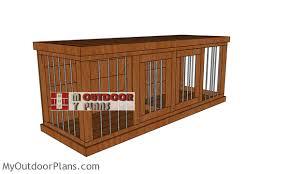large dog kennel free diy plans pdf