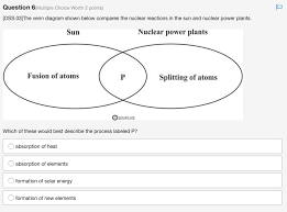 A Venn Diagram Is Shown Below Solved Question 6 Multiple Choice Worth 2 Points Oss 03j