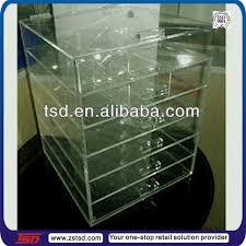 tsd a015 custom 6 drawer acrylic makeup organizer clear acrylic cosmetic makeup organizer drawer acrylic makeup organizer