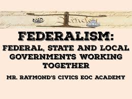 The Federal In Federalism Venn Diagram Answers Federalism Youtube