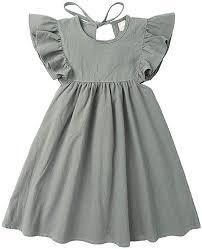 YESOT Kids Girls Dresses Floral Sleeve Baby Girls ... - Amazon.com
