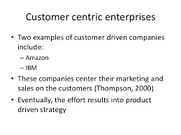 customer centric marketing