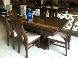 dining table set 6 seater teak dining table 6 6 seater glass dining table set
