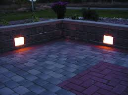 retaining wall lights kit with transformer cable