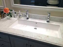 long bathroom sink with two faucets best of long bathroom sink or trough bathroom sink with long bathroom sink with two faucets