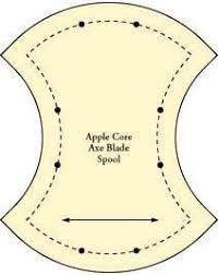 Free Apple Core Quilt Template Pattern | Blocks & Applique ... & Free Apple Core Quilt Template Pattern Adamdwight.com