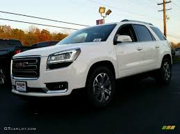 gmc acadia 2015 white. Contemporary 2015 Summit White GMC Acadia On Gmc 2015