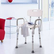 bathtub bench adjule medical shower chair bath seat stool with armrest back